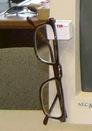 Custom Eyeglass or Safety Glasses Holder