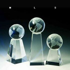 Crystal World Tower Award (Sandblasting), Price/piece