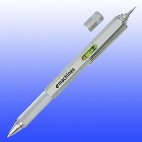 Pen W/ Mini Screw Drivers, Leveler, Ruler (Screened), Price/piece