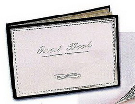 Silver Plated Guest Book, Price/piece
