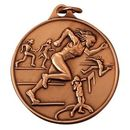 Custom Female Track IR Series Gold Medal (1 1/2