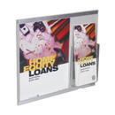 Custom Modern Line Wall Frame with Brochure Pocket (14w x 11h)