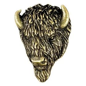 Buffalo Mascot Fully Modeled 3 Dimensional Pin, Price/piece