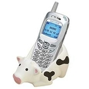 Custom Cow Cellphone Holder
