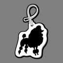 Custom Dog (Poodle, Full) Bag Tag