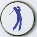 Custom Male Golfer Stock Ball Markers