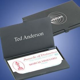 Black Business Card Case (Screened), Price/piece