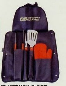 Heavy Duty Apron Barbeque Utensils Set, Master Chef, Price/piece