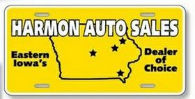 "Standard License Plates-.023"" White Polyethylene, Price/piece"