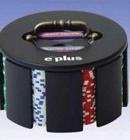 200 Piece Revolving Poker Chip Case (Screened), Price/piece