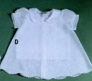 Baby Boutross Cotton Dress Set With Maderia (6m/12m/18m/24m)