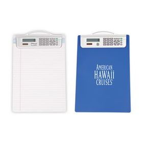 Blue Clipboard w/ Calculator, Price/piece