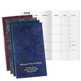 "Windmill Marble Work Monthly Planner, 3 1/2"" W X 6"" H, Price/piece"