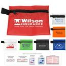 Custom Take-A-Long First Aid Kit #1 w/ Polyester Zipper Pouch