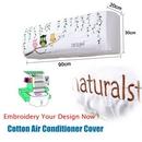 Custom Cotton Air Conditioner Cover, 35 1/2