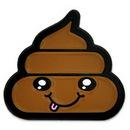 Custom Poop Emoji Pin, 3/4
