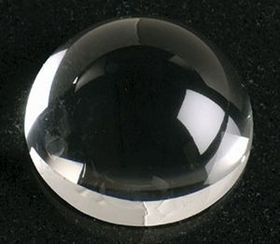 "Dome Magnifier Crystal Paperweight (2""), Price/piece"