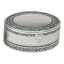 Custom Antique 2-Tier Oval Jewelry Box