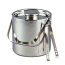 Custom 3 Quart Large Ice Bucket w/Tongs