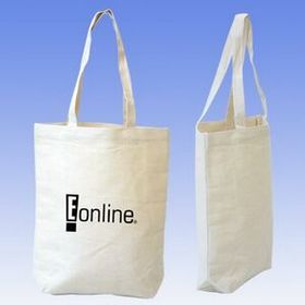 7 Oz Cotton Canvas Box Tote Bag, Price/piece