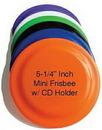 Custom Mini Frisbee w/ CD Holder