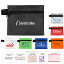 Custom On the Go First Aid Kit #1 w/ Polyester Zipper Pouch