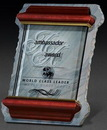 Custom X-Large Slate/ Glass/ Cherry Frame Award