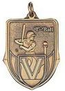 Custom 100 Series Stock Medal (T-ball Player) Gold, Silver, Bronze
