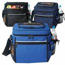 Custom 24 Pack Cooler w/Easy Access & Cell Phone Pocket