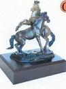 Custom Winner Take All II Horse Sculpture (6 1/2