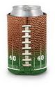 Custom Football Field Scuba Pocket Coolie Can Cover (4 Color Process)