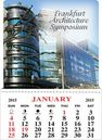 Custom Kwik-Stik 13 Month Vinyl Calendar w/ Adhesive Back - Full Color (4
