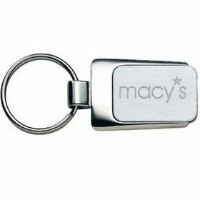 MDS 2-Tone Engraved Metal Key Tags, Price/piece