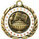 Custom Quali-Craft Book & Lamp Medallion