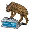 Custom Bobcat School Mascot w/ Plate
