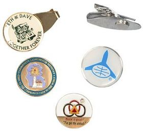 "Clip2Me Golf Clip with 3/4"", 7/8"" or 1"" Ball Marker, Price/piece"