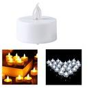 Custom Flameless LED Tea Light Candles, 1 1/2