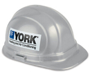 Custom OSHA Certified Hard Hat w/ Decal on 2 Sides