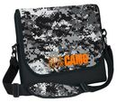 Custom Neoprene Messenger Bag w/ DigiColor Camo Flap (12 2/5