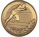 Custom 500 Series Stock Medal (Male Track & Field) Gold, Silver, Bronze