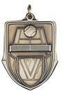 Custom 100 Series Stock Medal (Tennis) Gold, Silver, Bronze