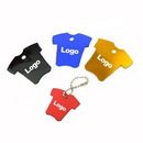 Custom T-shirts Shape Pet ID Tags, 1 2/5