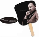 Custom Dr Martin Luther King Jr Stock Design Hand Fan