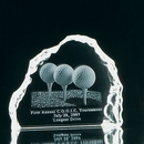 Custom Medium Iceberg Crystal Award, 5