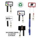 Custom Jumbo Retractable Badge & Pen Reel (Label Only)