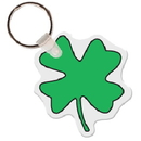 Gemini Custom Four Leaf Clover Key Tag, 2.12