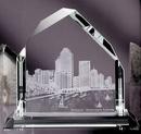 Custom Dartmoor Peak Award - Jade Glass (10 3/4