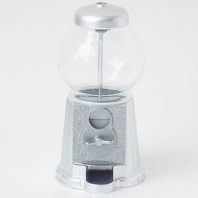 "9"" Gumball Machine W/ Chrome Accent, Price/piece"