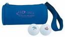 Custom Golf Ball/ Accessory Duffel Shape Bag