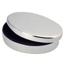 Custom Silver Plated Oval Box